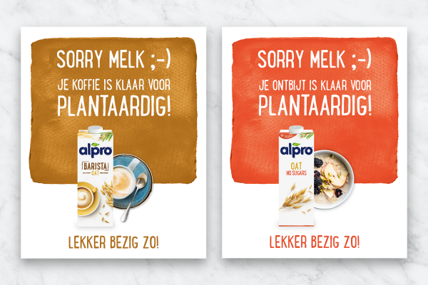 Alpro_Sorry Melk_Case Visual